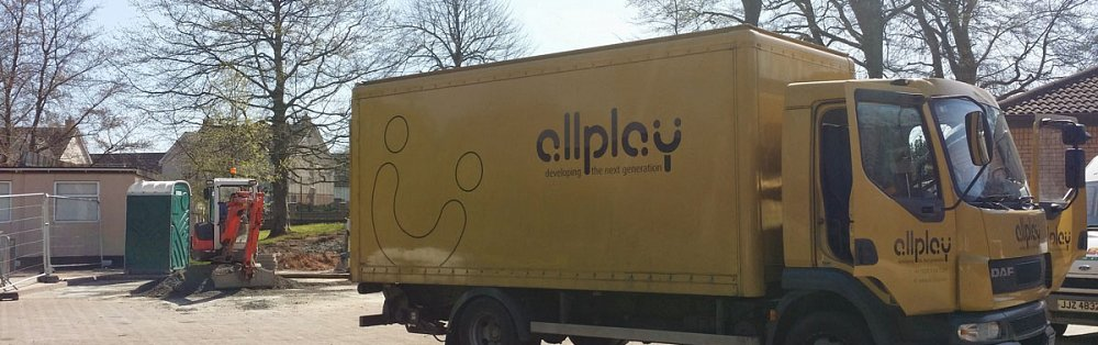 Photo of Allplay lorry